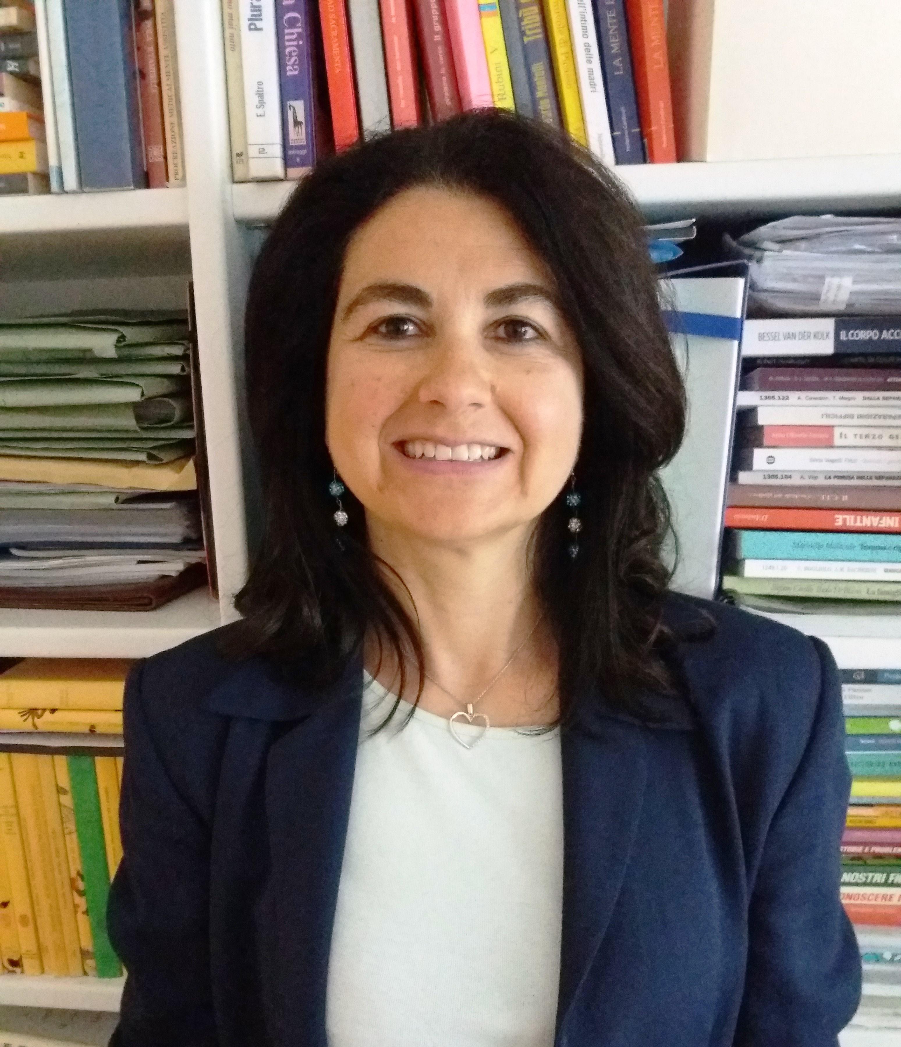 Foto della dottoressa psicologa e psicoterapeuta Cristiana Frattesi